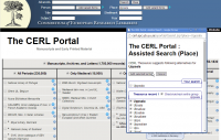 CERL Portal Assisted Searching on Place Names